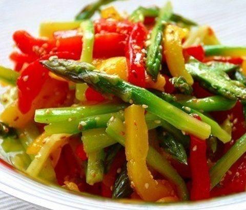 カラフルな食卓がポイント♡春が旬の緑黄色野菜でワキガ・多汗症を改善しよう