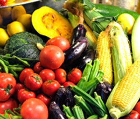 色とりどりの緑黄色野菜が効果的!身体の内側からヘルシー汗対策♪